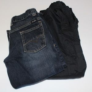 Little Boys Pants Bundle size 8 Jeans & Ski Pants